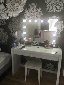 Make Up Spiegel : make up theater visagie paskamer spiegel hollywood woonaccessoires spiegels ~ Orissabook.com Haus und Dekorationen