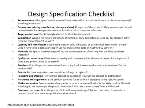 Database Design Specification Template Images Template