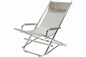 Chaises Longues Pas Cher : chaise longue la chaise longue argent ajania chaise longue et hamac pas cher ~ Teatrodelosmanantiales.com Idées de Décoration