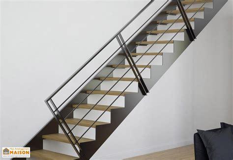 re d escalier aluminium garde corps 4 lisses pour limons tokyo escalier m 233 tal