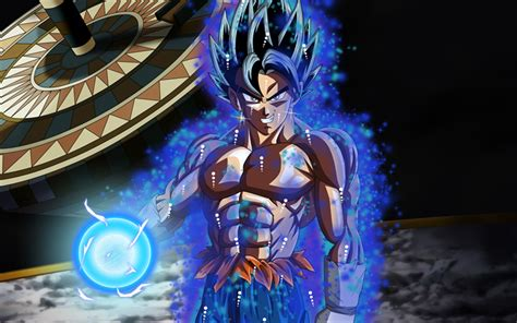 Descargar fondos de pantalla 4k Goku magia Dragon Ball