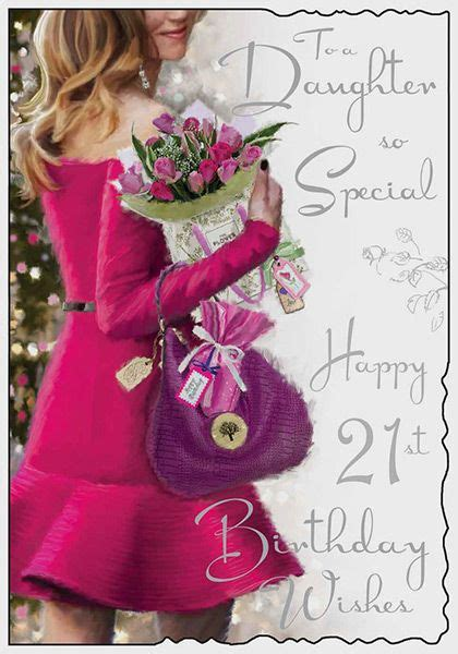 daughter  special st birthday card