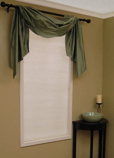 Kitchen Scarf Valance by The Right Way To Use A Drapery Valance Master Bedroom