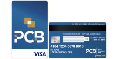 First of all they sent me a card that looks nothing like the card should. PCB Secured Visa® Credit Card - ApplyNowCredit.com