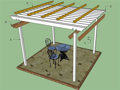 10x10 Freestanding Deck Plans by 13 Free Pergola Plans You Can Diy Today