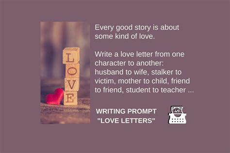 writing prompt love letter  images writing