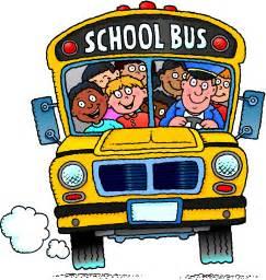 Cartoon School Buses