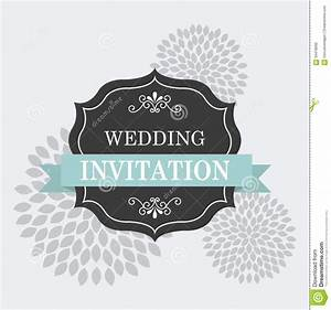 Wedding Invitation Stock Vector - Image: 59478099