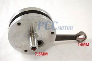 Crankshaft Crank Shaft 49cc 60cc 66cc 80cc Motorized
