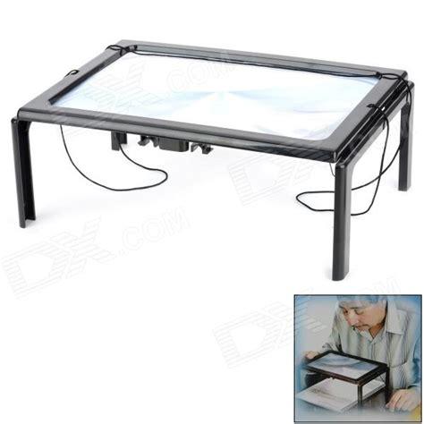 desktop magnifying l led free desktop magnifier w led l for the elderly