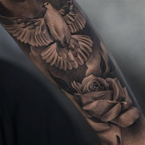 dove tattoos  men ideas  inspirations  guys