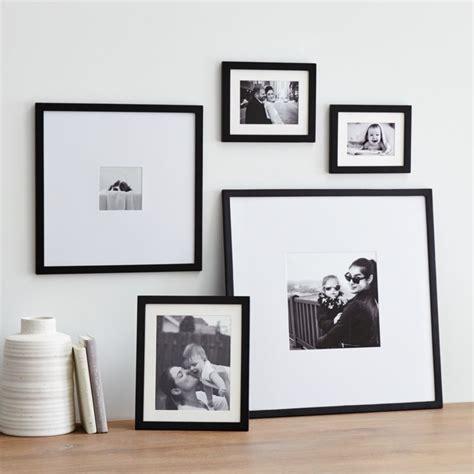 piece matte black picture frame set reviews crate