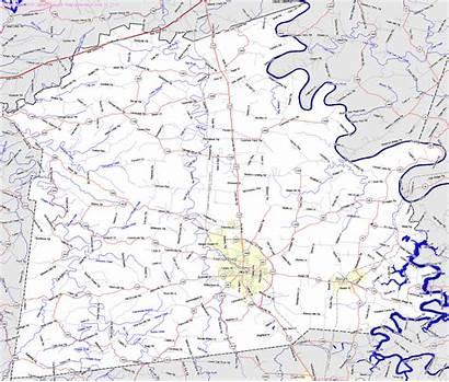 Mercer County Map Ky Kentucky Bridgehunter Maps