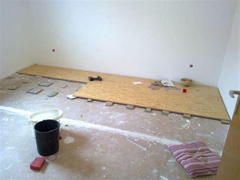 fußboden ausgleichen mit osb platten wohnzimmer teil 4 flur teil 2 bad teil 2 stefe 180 s