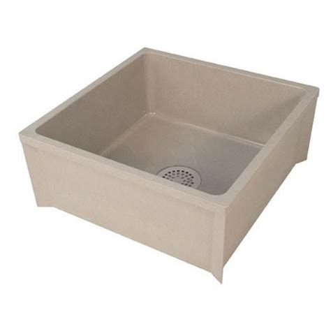 Commercial Mop Sink Strainer by Commercial Plastic Mop Sink W 3 In Drain Ebay