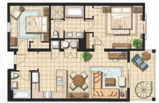 house plans in suite accommodations in key key hotel suites