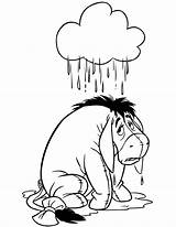 Coloring Eeyore Rain Wet Disney Clipart Winnie Pooh Printable Library Clip Christmas Under Drawings Popular Hmcoloringpages Sheets sketch template