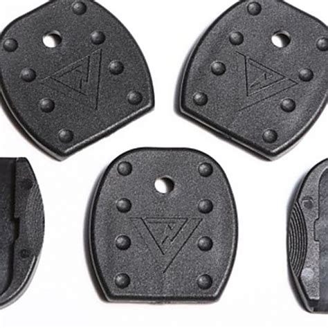 vickers tactical glock floor plate black for glock 17 19