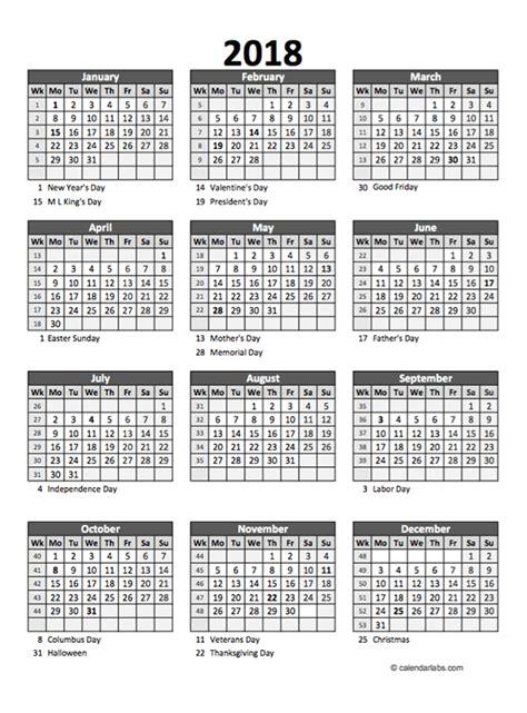 editable  yearly spreadsheet calendar  printable