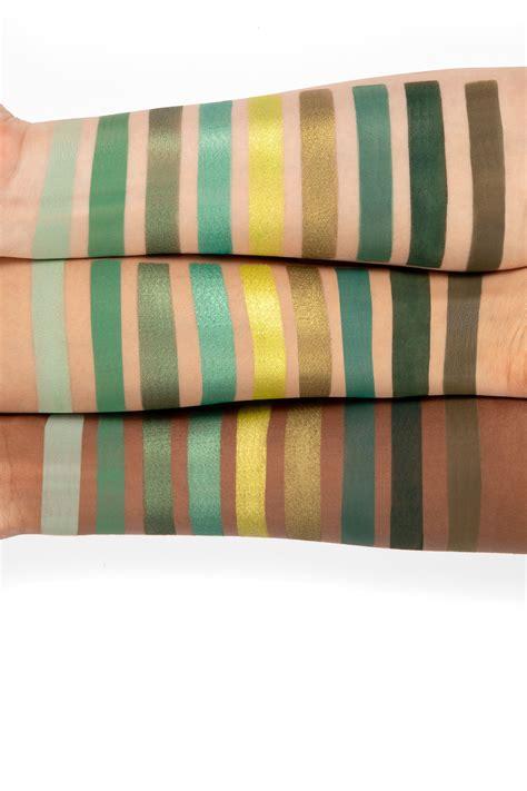 colourpop releases green palette  saint patricks day