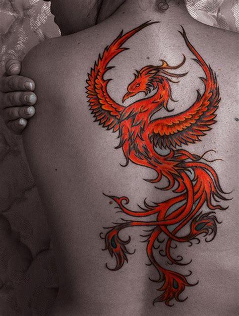 tatouage de phoenix  inkage