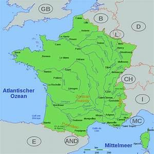 Schöne Städte In Frankreich : landkarte frankreich st dte und fl sse kleve landkarte ~ Buech-reservation.com Haus und Dekorationen