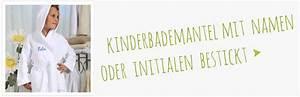 Servietten Besticken Lassen : direkt personalisierte geschenke mit stickerei selbst gestalten kinderbademantel ~ Sanjose-hotels-ca.com Haus und Dekorationen