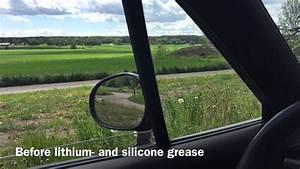 Greased Power Windows  Mazda Miata Na