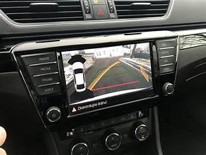 Oem Highline Rvc Rear View Camera Kit For Skoda Superb 3