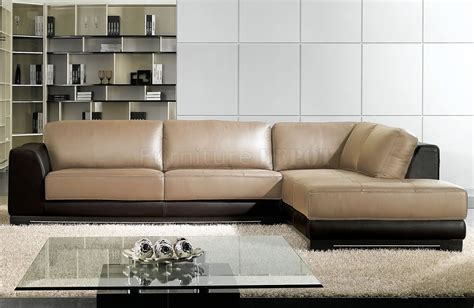 two tone leather sectional sofa inspiring tan sectional sofa 8 two tone leather sectional