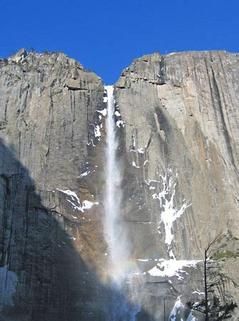 Yosemite Falls Waterfalls California United States