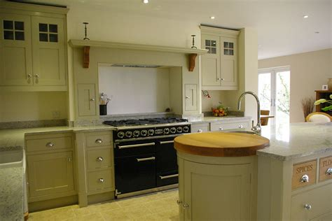green shaker style kitchen green shaker kitchen 1 h m interiors 4039