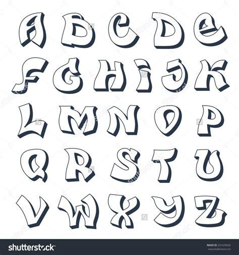 alphabet letters in graffiti bubbles graffiti letters alphabet a z design graffiti