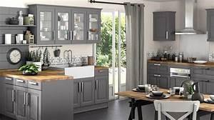 faire travailler sa matiere grise tout en deco deco With meubles de cuisine lapeyre 5 notre selection des plus belles cuisines en bois cuisine