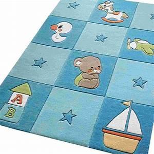davausnet tapis bleu chambre bebe avec des idees With tapis enfant avec canapé sofactory