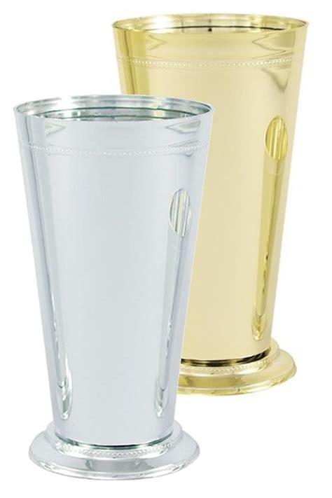 Large Silver Mint Julep Vases