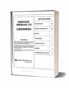 Daewoo Leganza Service Repair Manual