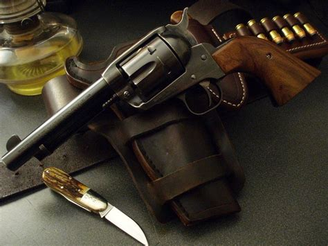 ruger new vaquero blued 4 5 8 quot barrel grips they make guns to last for generations