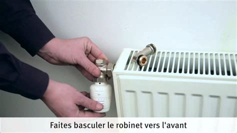 installer et raccorder un radiateur 224 eau chaude