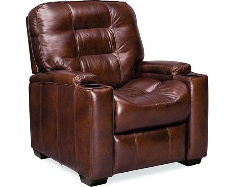 Thomasville Leather Recliners by Latham Media Recliner With Cup Holder Manual Leather