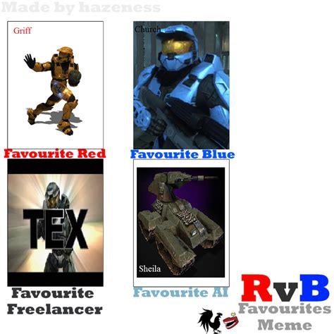 Red Vs Blue Memes - red vs blue meme by kurama luver on deviantart
