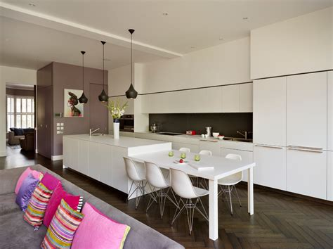 high end kitchens kitchen contemporary with aga architects