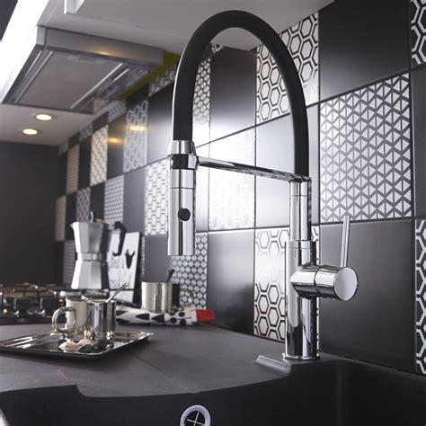mitigeur de cuisine avec douchette mitigeur de cuisine avec douchette chromé delinia fizzi