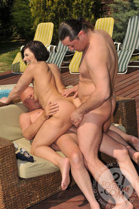 Porn granny dp Double penetration: