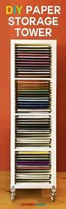 12x12, Paper, Storage, -, Diy, Vertical, Organizer, For, Scrapbook, Paper