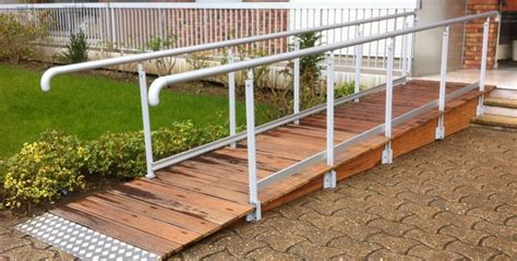 re escalier exterieur pour handicape re d acc 232 s accessibilite fr
