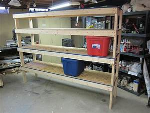Storage Shelf - Cheap and Easy Build Plans - YouTube