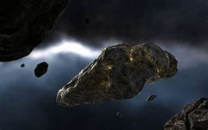 Asteroid Spaceship - Pics about space