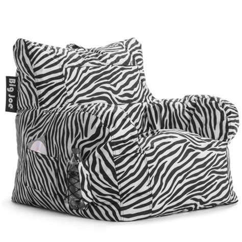 Big Joe Lumin Chair Zebra by Top 5 Best Bean Bag Chairs Colour My Living