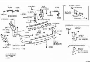 Toyota Rav 4 Protector  Bumper  Scuff Plate   Rear